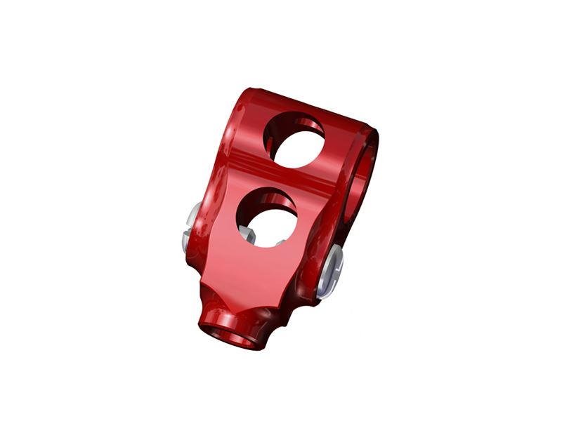 LX0410 - NANO CPX/S - Precision Aluminum DFC Center Hub - Red