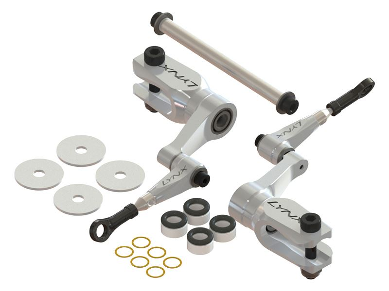 LX0560 - 450X - DFC Ultra Main Grip Set - Silver