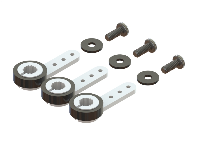 LX1097 - Micro Servo Gear Saver Arm - Set 3pc