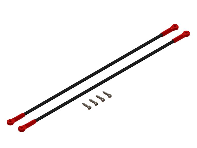 LX1260 - 200SRX - Ultra Tail Boom Support - Red
