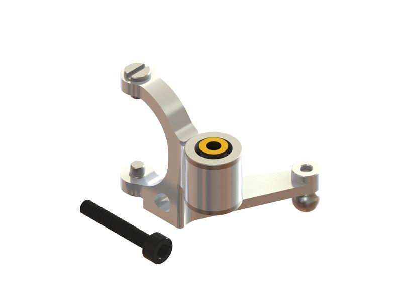 Bell Crank Lever Design : Lx cfx precision tail bell crank lever silver