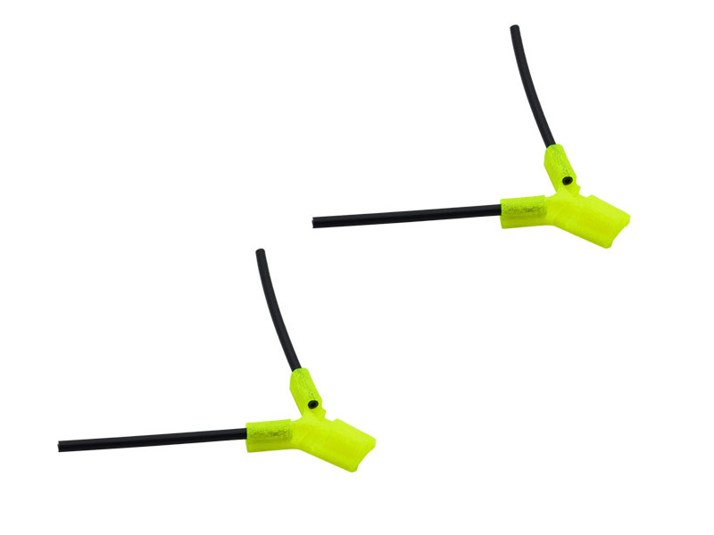 LX2549-4 TPU - Antenna Holder Type B, Yellow Color
