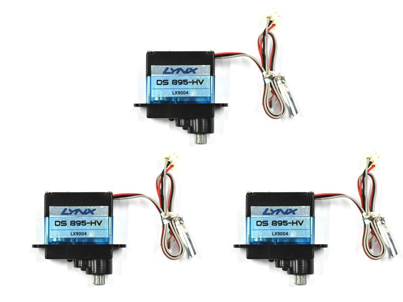 LX9004-3 - Lynx Servo DS-895-HV, 3 PC Set