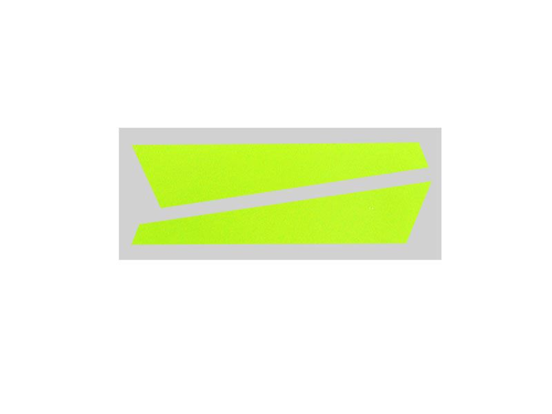SP-OXY2-059 - OXY2 - Vertical Fin Sticker Yellow