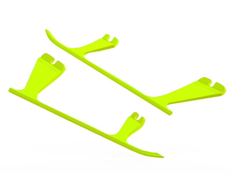 SP-OXY2-104 - OXY2 - Plastic Landing Gear Skid, Left / Right - Yellow