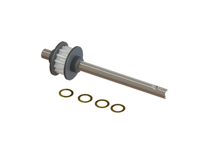 SP-OXY3-080 - OXY3 - Tail Shaft 15T