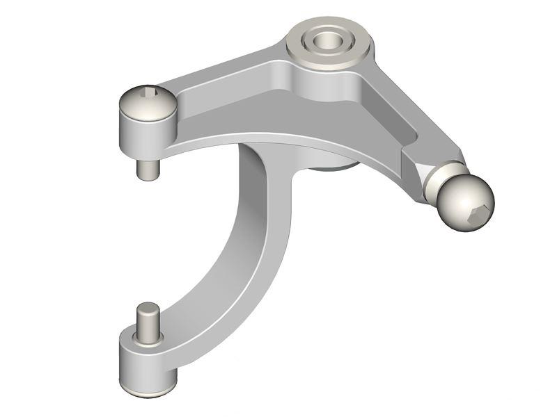 Bell Crank Lever Design : Lx goblin precision tail bell crank