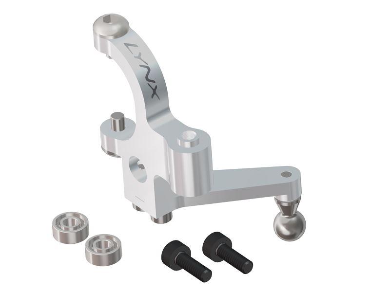 Bell Crank Lever Design : Lx mini protos precision tail bell crank lever