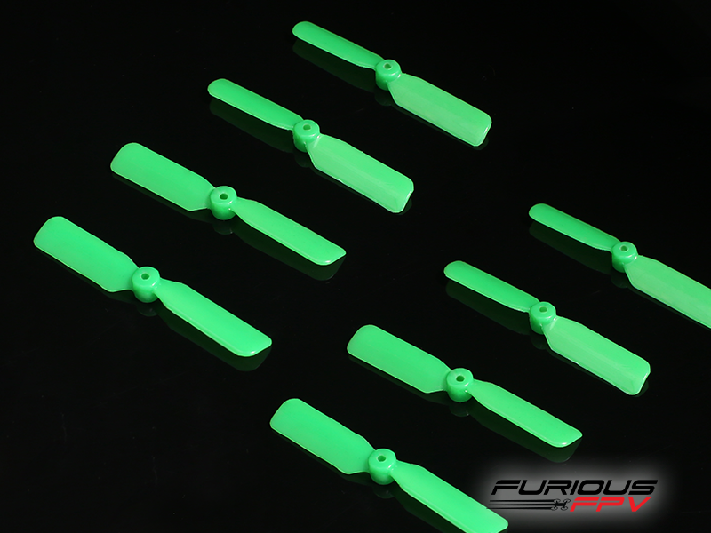 FPV-0169-S Furious FPV 45mm 2-Blade Propeller (4cw + 4ccw) - Green