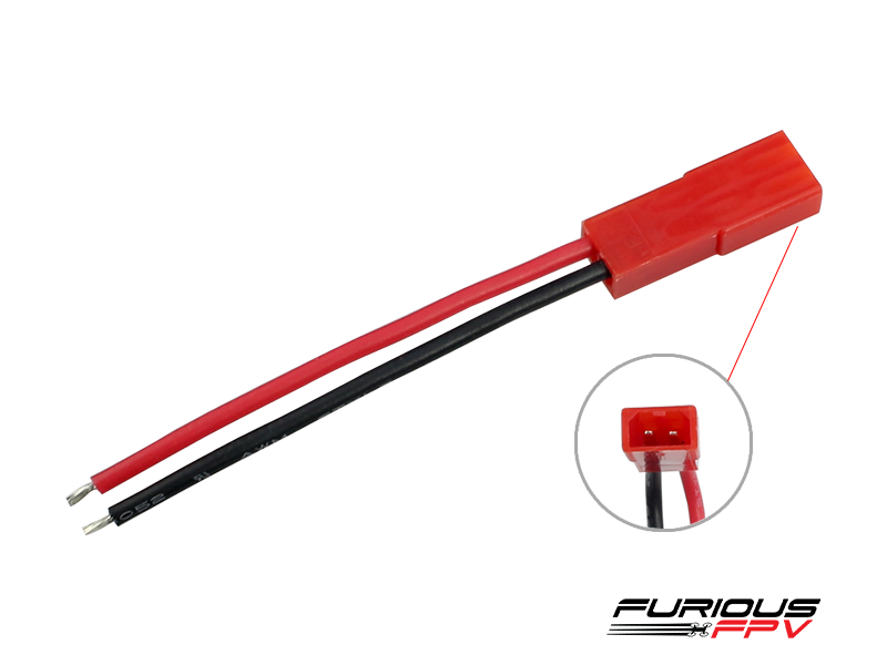 FPV-0179-S Furious FPV JST battery connector (female-2pcs)