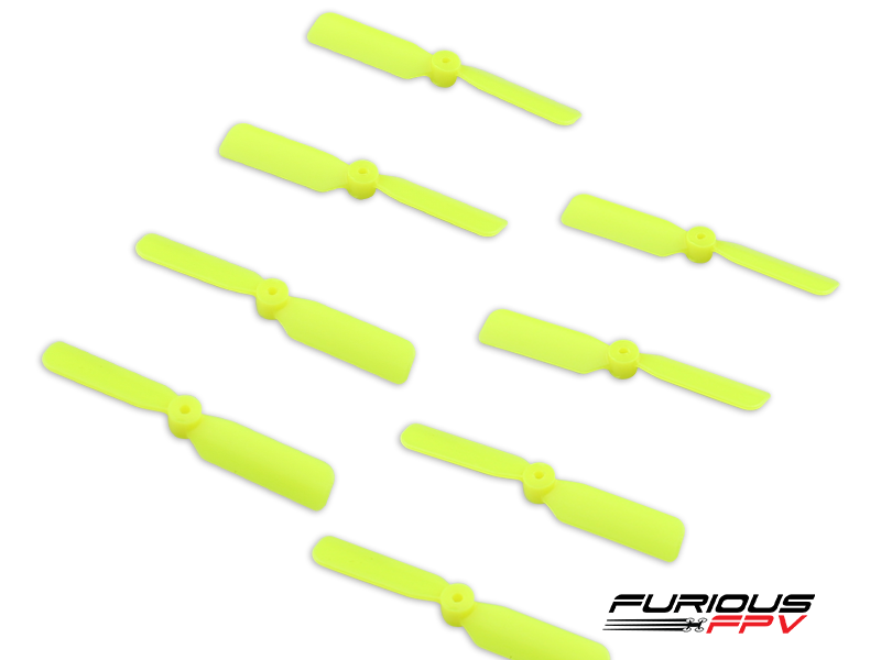 FPV-0208-S Furious FPV 45mm 2-Blade Propeller (4cw + 4ccw) - Yellow