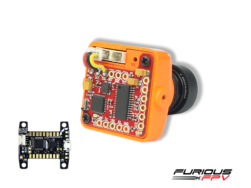 FPV-0234-S Furious FPV PIGGY OSD V2 for Kiss FC