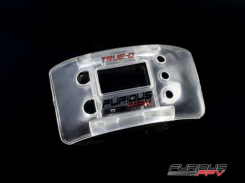 FPV-0253-S Furious FPV True-D Spare Cover V3/3.5 (Transparent)