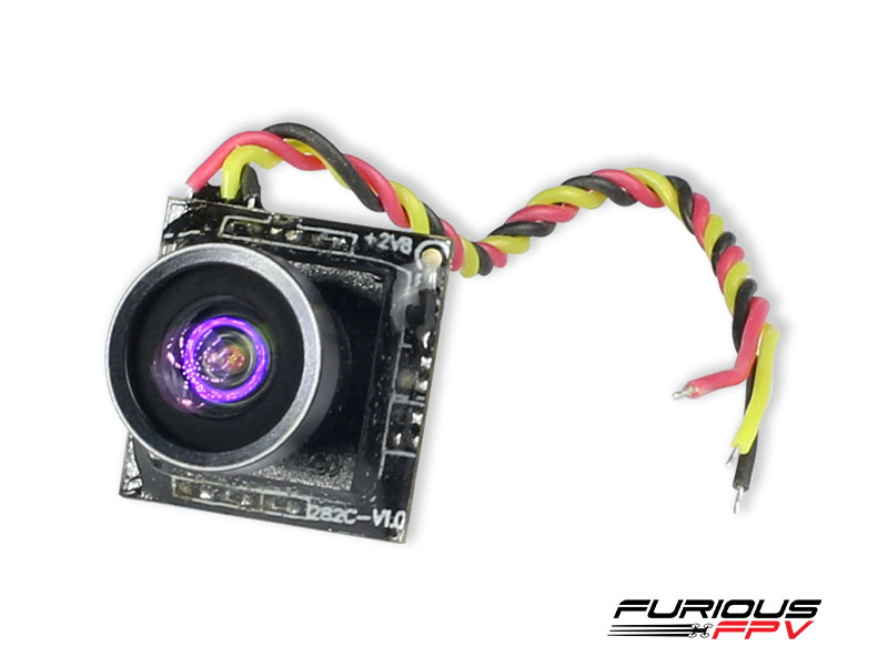 FPV-0255-S  FuriousFPV Micro 600TVL 120Degree 1.9g 1/4 CMOS Camera
