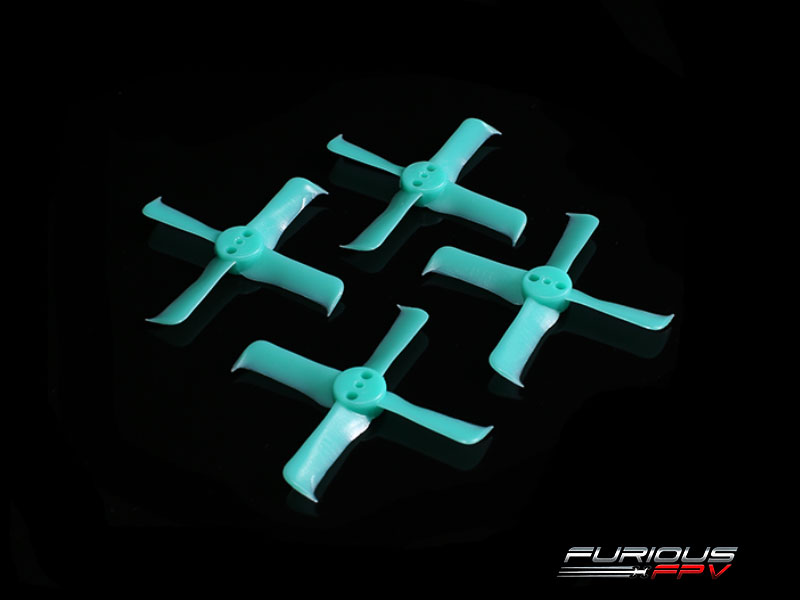 FPV-0295-S FleekProp 2036-4 Propellers (2CW - 2CCW) - Turquoise