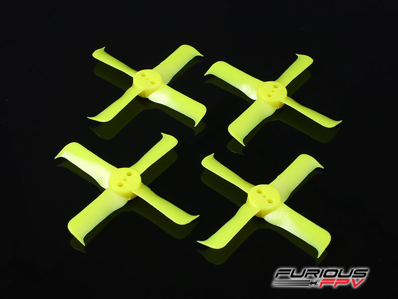FPV-0300-S FleekProp 1936-4 Propellers (2CW - 2CCW) - Yellow