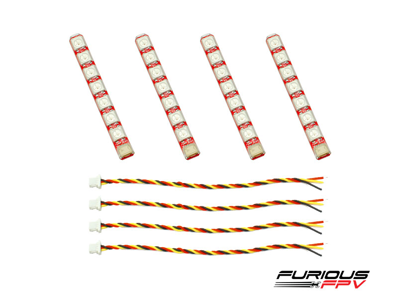 FPV-LED1R FuriousFPV LED Strip Single Row