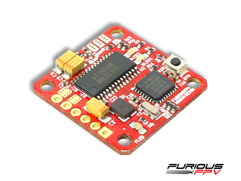 FPV-MNOVA FuriousFPV MNOVA Adjustable 25/200mW PIT MODE OSD/VTX