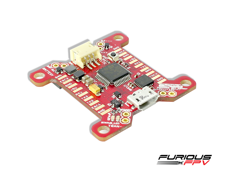 FPV-RADDS FuriousFPV RADIANCE Flight Controller - DSHOT Version