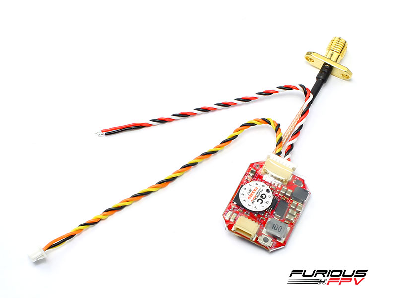 FPV-VTX-RACE FuriousFPV Adjustable 25/200mW STEALTH VTX RACE with PIT MODE