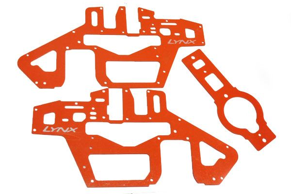 <p>LX0259 - T REX 450 PRO 6S - FRAME SET - G10 ORANGE</p>
