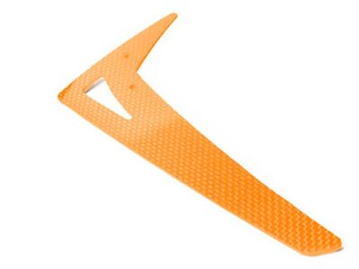 LX0187 - Vertical Fin T-REX550-600 - Raptor50 - G10 Orange
