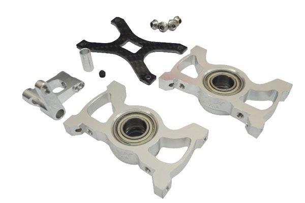 LX0227 - T-Rex 600E Pro - Mainshaft Bearing Blocks