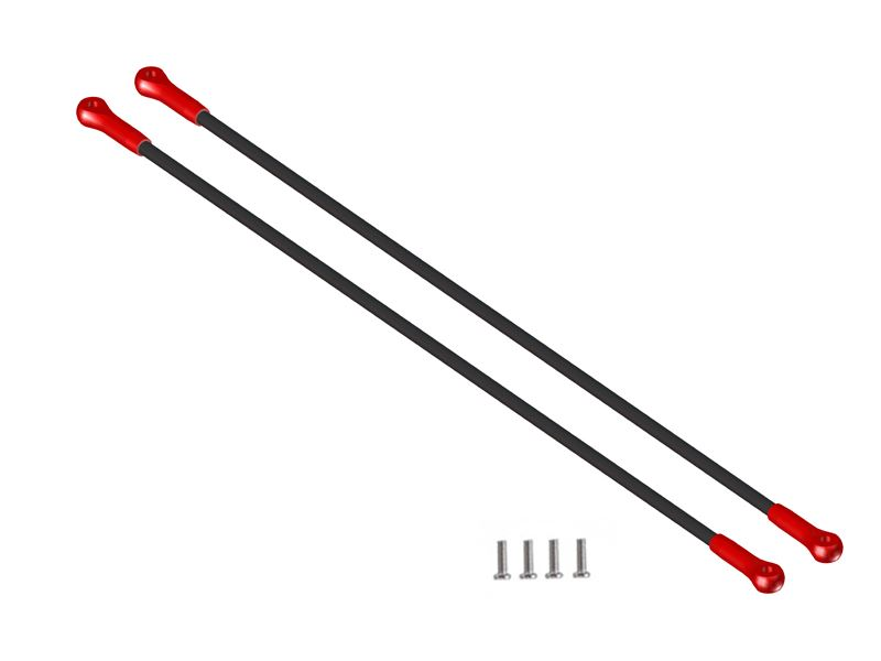 LX0352 - MCPX-BL - Ultra Tail Boom Support - Red Devil Edition
