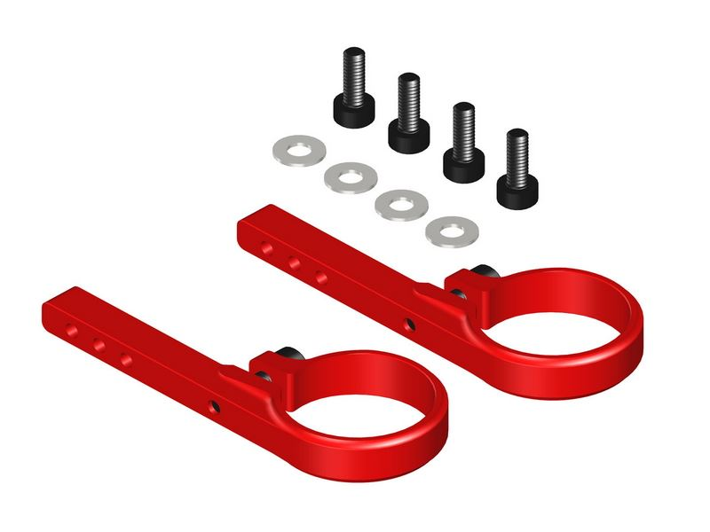 LX0423 - 360CFX/ 450X - Tail Servo Mount - Red Devil Edition