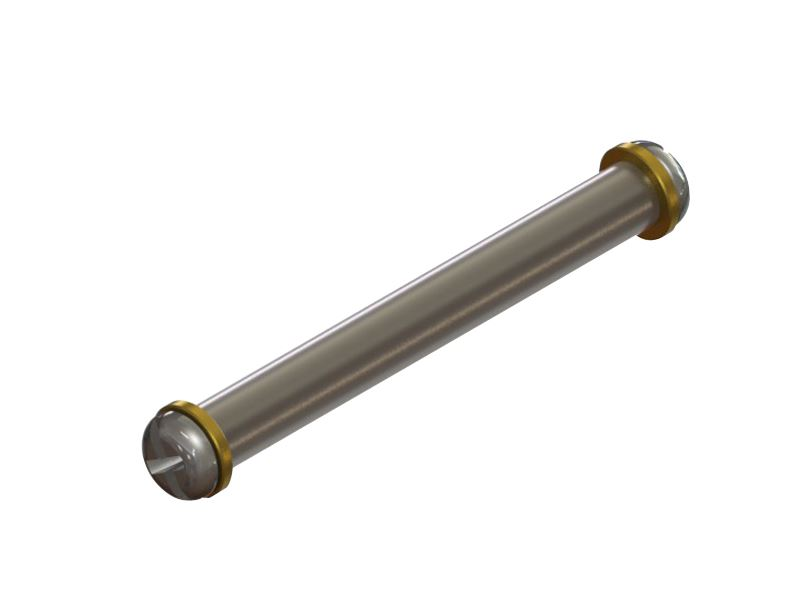 LX0469 - MCPX BL - Titanium Spindle Shaft