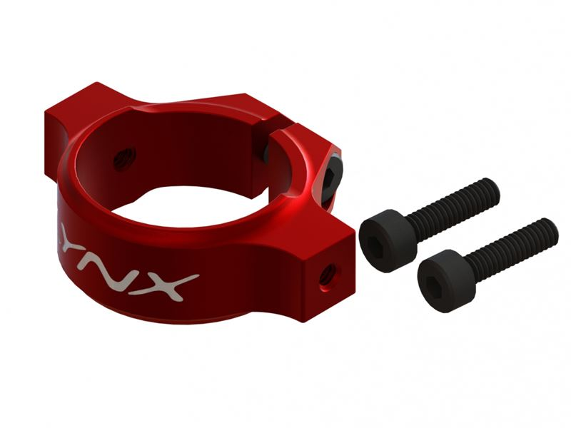 LX0559 - Mini Protos - Tail Boom Clamp - Red Devil