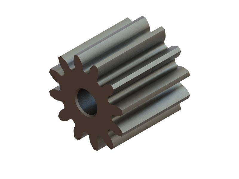 LX0638 - Hardened Pinion 12T MOD 0.4 - 1.5 Shaft