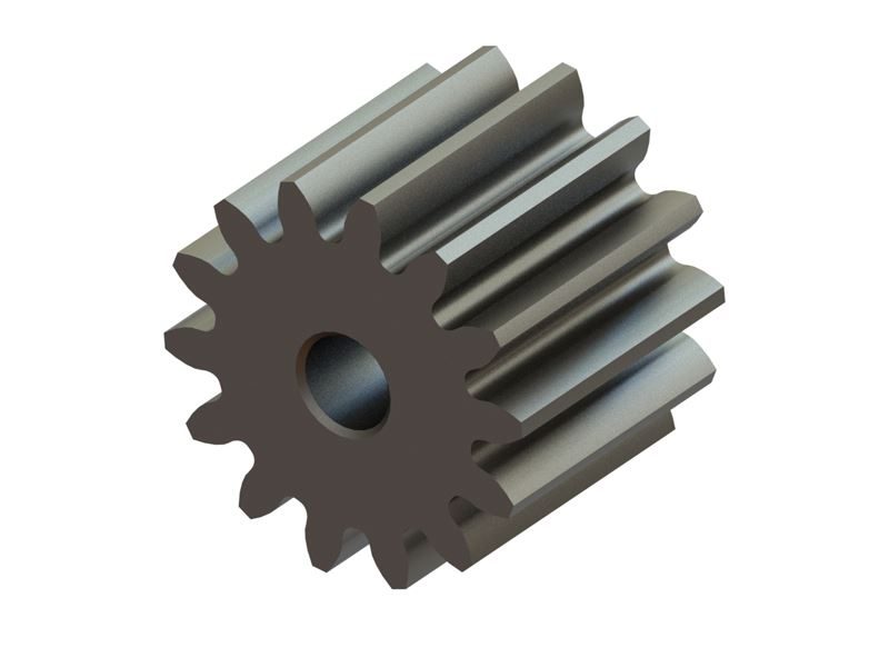 LX0640 - Hardened Pinion 14T MOD 0.4 - 1.5 Shaft