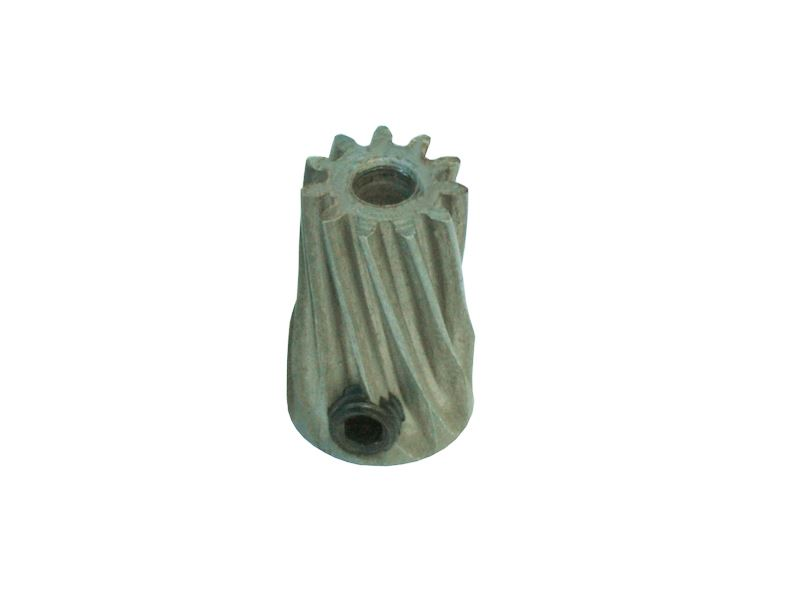 LX0652 - Steel Pinion Slant 12T Mod 0.5  X STD Blade Motor Shaft