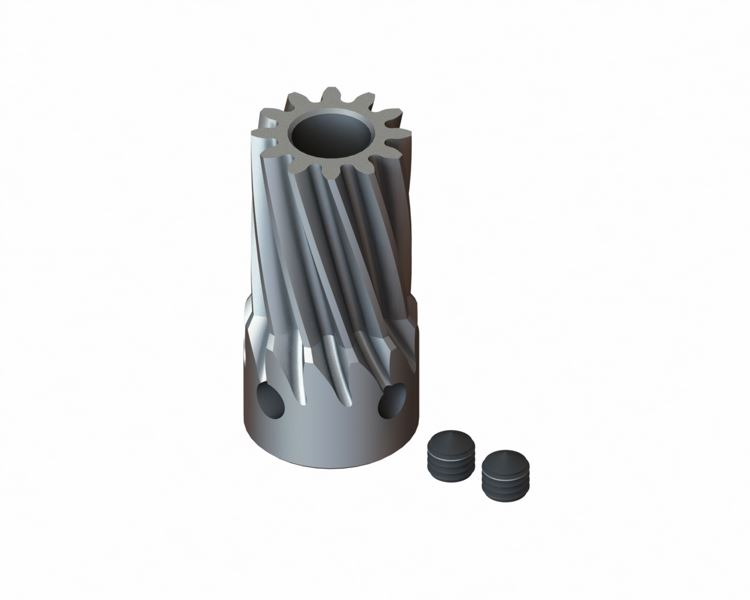 <p>Lynx define OEM Hard Steel Slant Pinion for T-Rex 500</p>