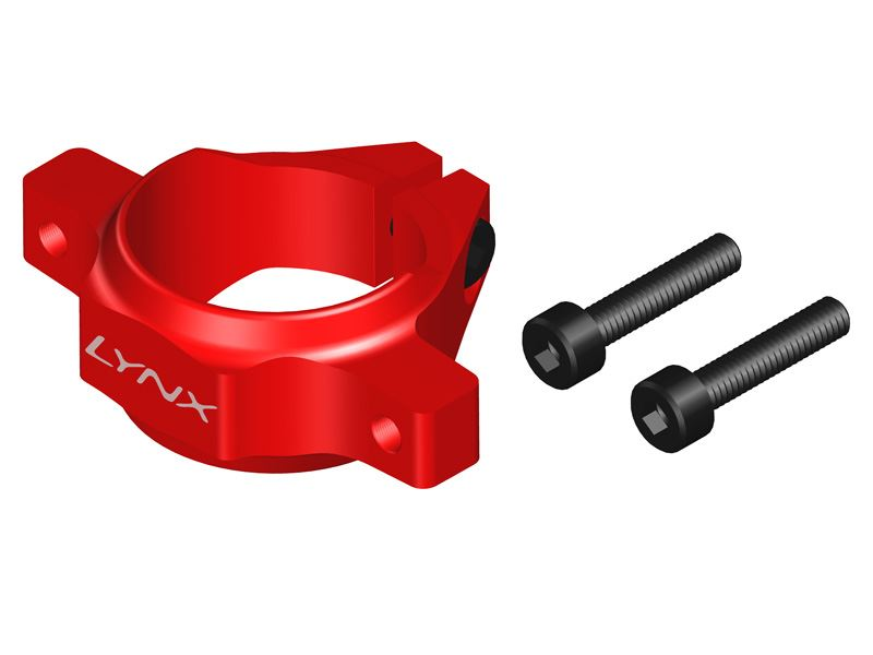LX0905 - Protos 500 - Tail Boom Clamp - Red Devil
