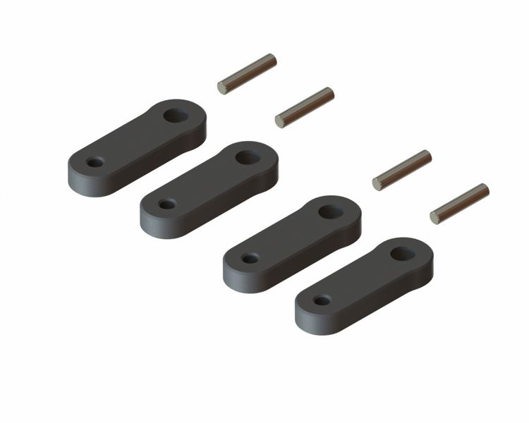 <p>Tail Plastic Linkage set as spare parts for 130X Tail Pitch Slider System</p>