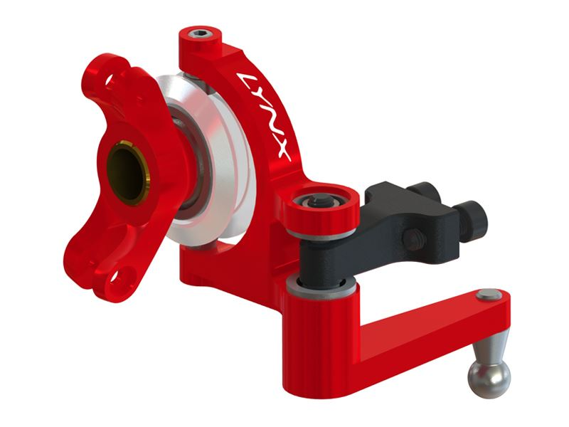 LX1081 - GOBLIN 630-700-770 - Precision Tail Bell Crank System - Red