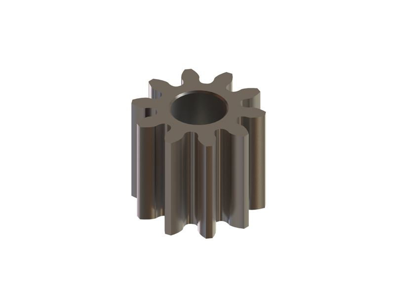 LX1099 - Hardened Pinion 10T MOD 0.3 - 1.5 Shaft