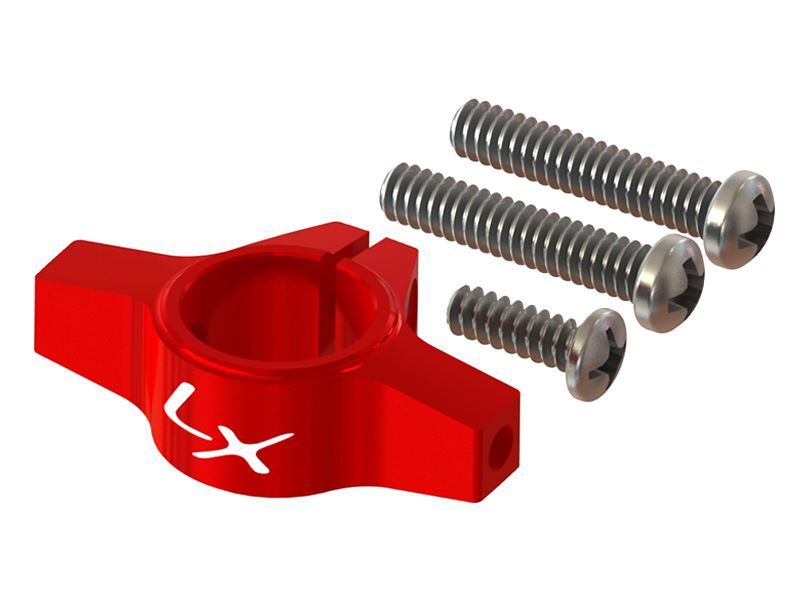 LX1257 - 200SRX - Ultra Tail Boom Clamp - Red