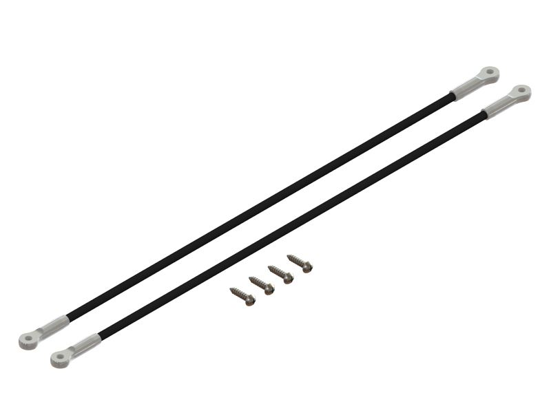 LX1259 - 200SRX - Ultra Tail Boom Support - Silver