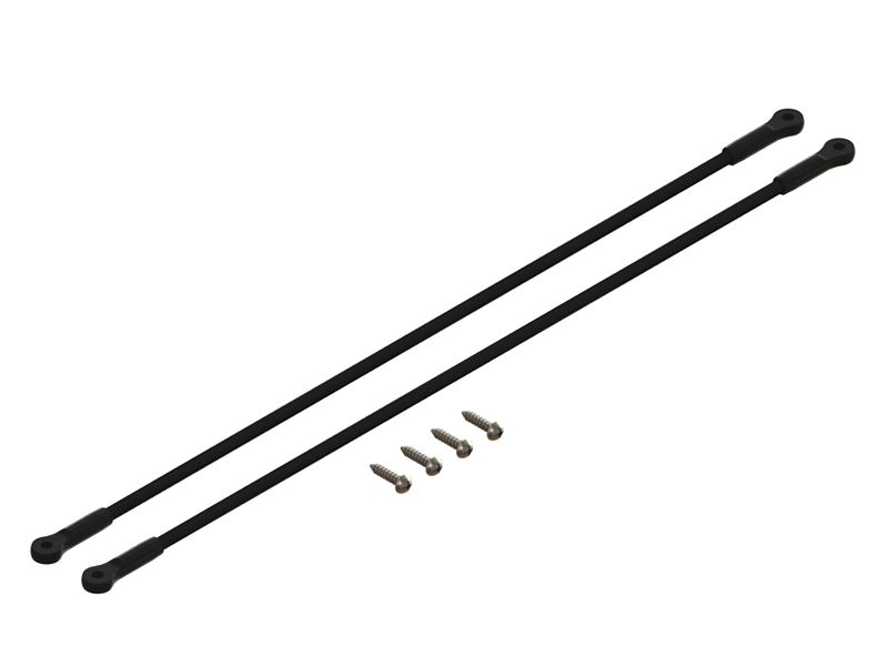 LX1261 - 200SRX - Ultra Tail Boom Support - Black
