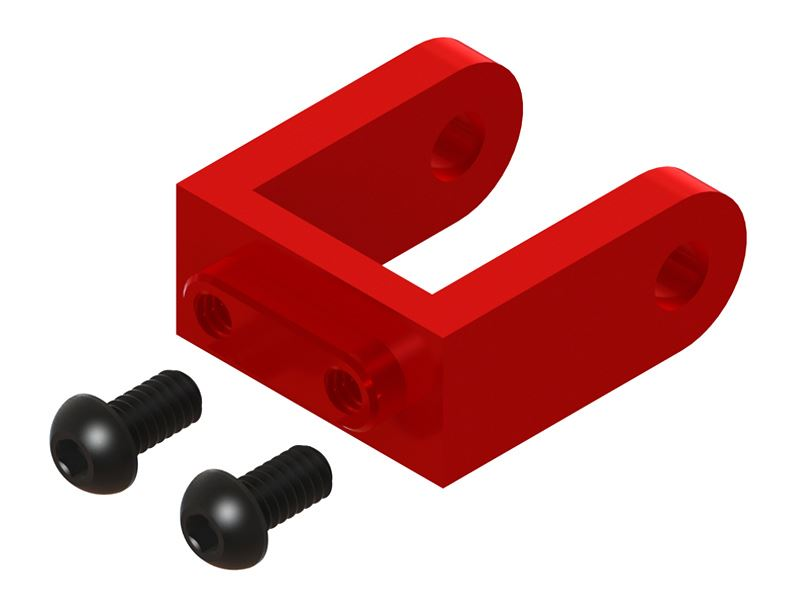 LX1265 - Protos 500 - Ultra Tail Case - Bell Crank Support - Red