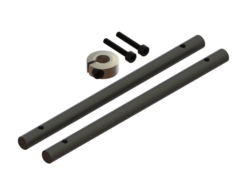 LX1451 - 180CFX - Solid Carbon Fiber Main Shaft, 2 PC