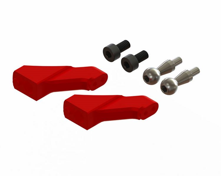 LX1558 - Gaui X3 - Lynx Main Grip FBL Grip Arm, Spare - Red