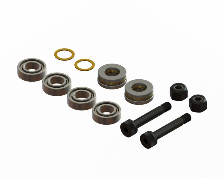 LX1560 - Gaui X3 - Lynx Main Grip Bearing Set Spare, Set