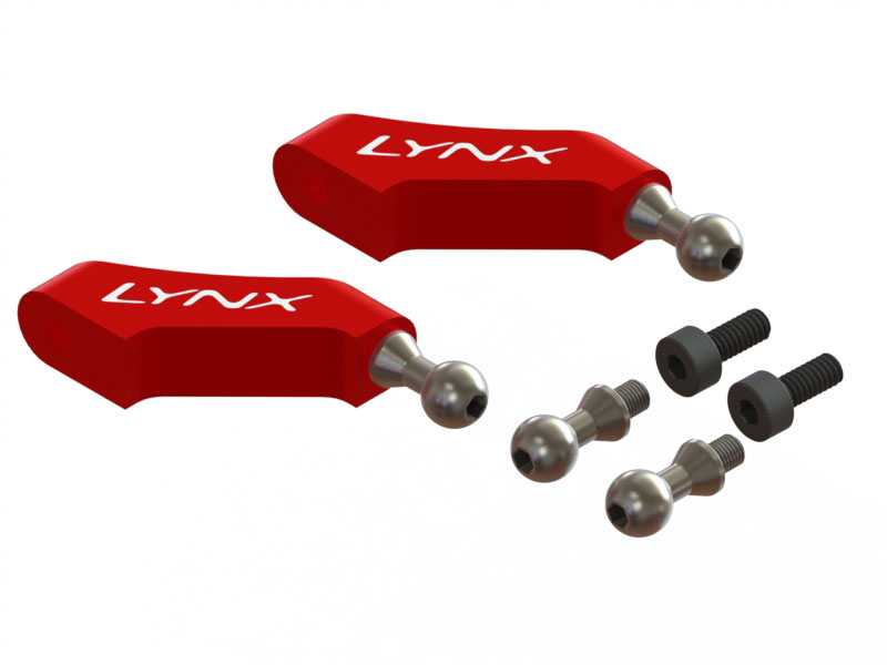 LX1747 - 360 CFX - Main grip arm Spare _ Red