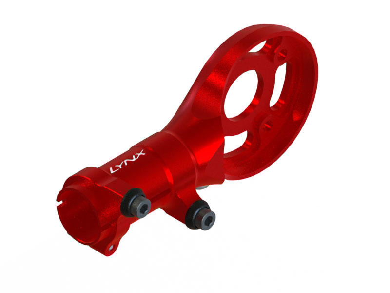 LX1814 - 230S/200S/250CFX - Ultra Tail Motor Support, Red