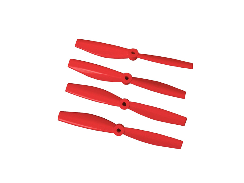 LX1837- Bullnose 4045  Lynx Racer Propeller CCW + CW Set - Red