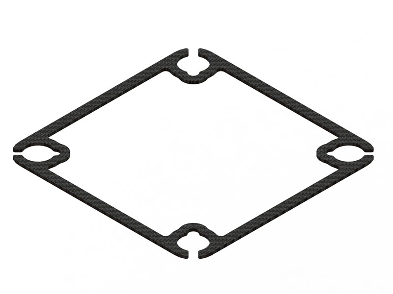 LX1965 - Inductrix Square Shape Carbon Frame Stiffener